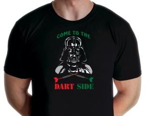 Darts - Come To The Dart Side T-shirt