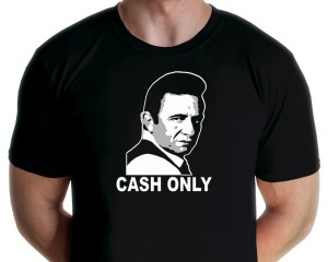 Johnny Cash - Cash Only T-shirt