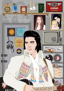Elvis His(s)tory: The Concert Years (poster + booklet)